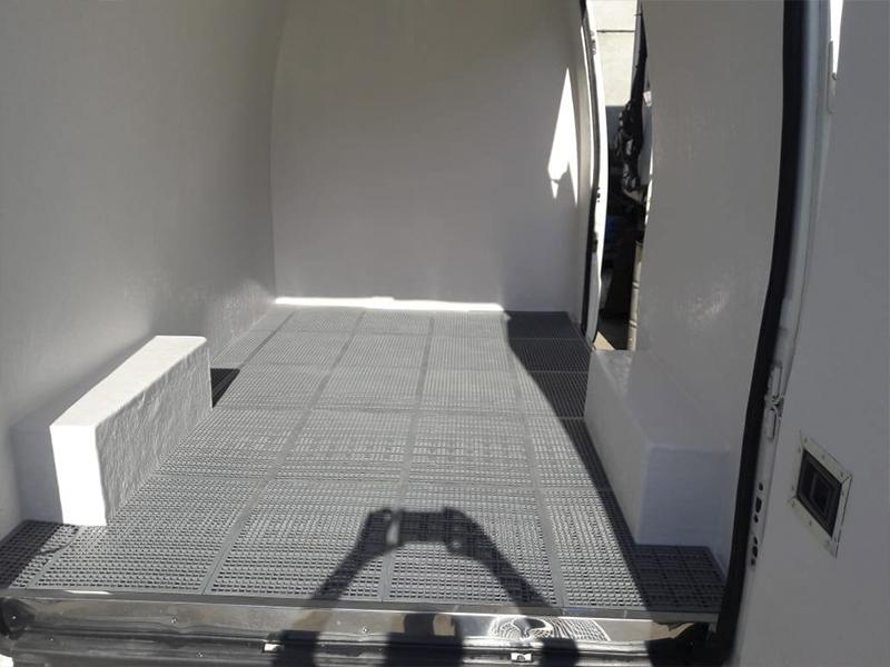 Furgões Voigt - Isolamento Térmico para Furgões, Baús e veículos Utilitário